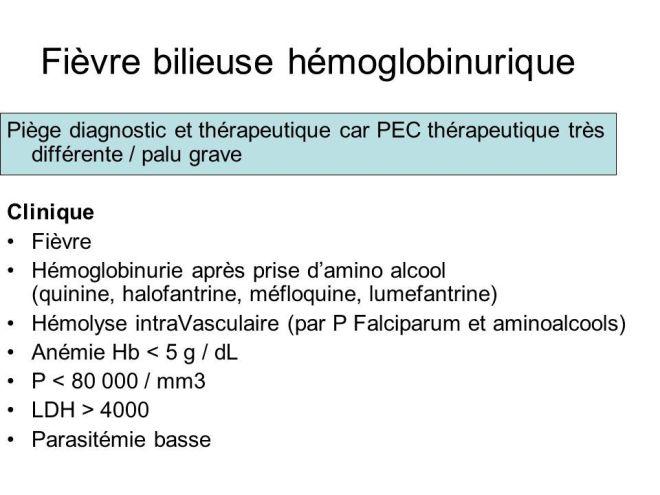 Fièvre bilieuse hémoglobinurique - Images - lookfordiagnosis.com