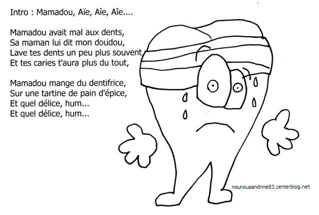 dent: mamadou avait mal aux dents - nounousandrine83.centerblog.net