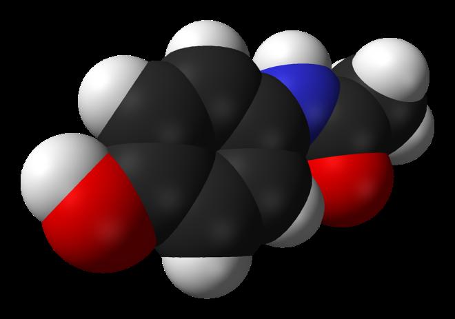 Paracetamol-3D-vdW - Benjah-bmm27 - Wikimedia Commons