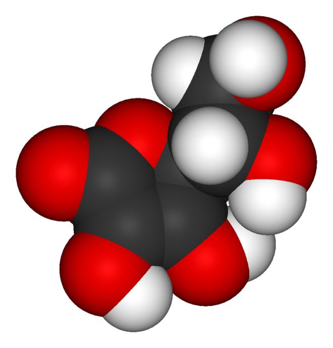Modèle 3D de la molécule - Wikimedia Commons